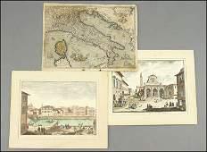 ABRAHAM ORTELIUS MAP OF ITALY.
