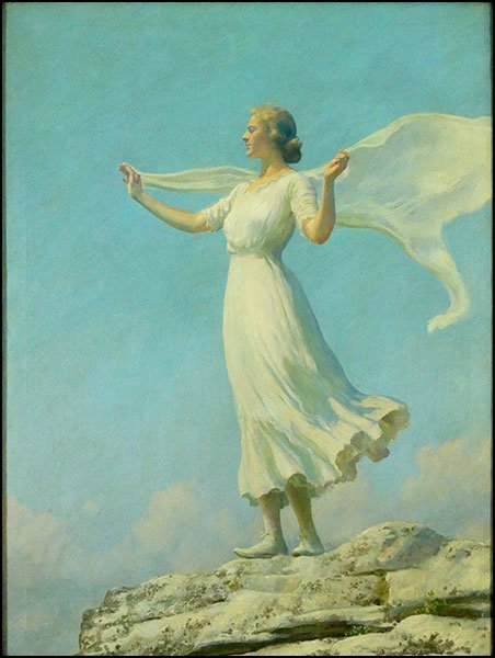 CHARLES COURTNEY CURRAN (AMERICAN, 1861-1942) THE SOUTH