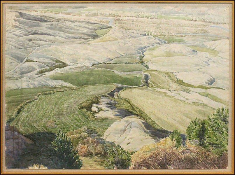 CONLEY HARRIS (AMERICAN, B. 1943) PLATEAU NAVARRE,