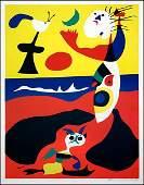 JOAN MIRO (SPANISH, 1893-1983) SUMMER (L'ETE), 1938.