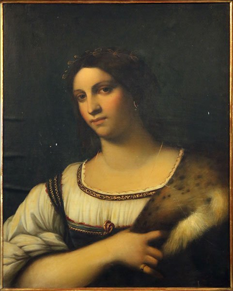 LOUIS BARDI (ITALIAN, 19TH CENTURY) PORTRAIT OF A WOMAN
