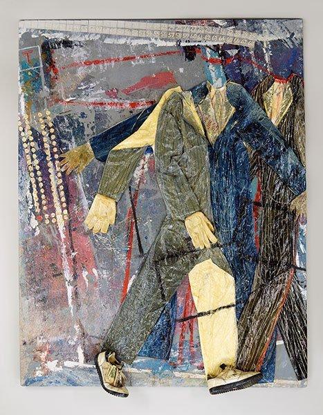 ARLINE ERDRICH (AMERICAN, 1944-2011) PRESS 69 PLEASE.