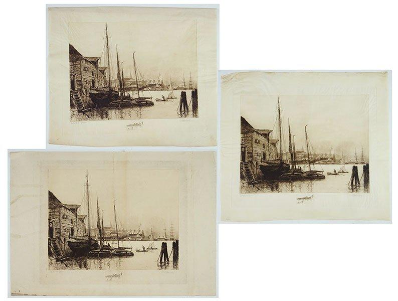 STEPHEN PARRISH (AMERICAN, 1846-1938) QUEBEC.
