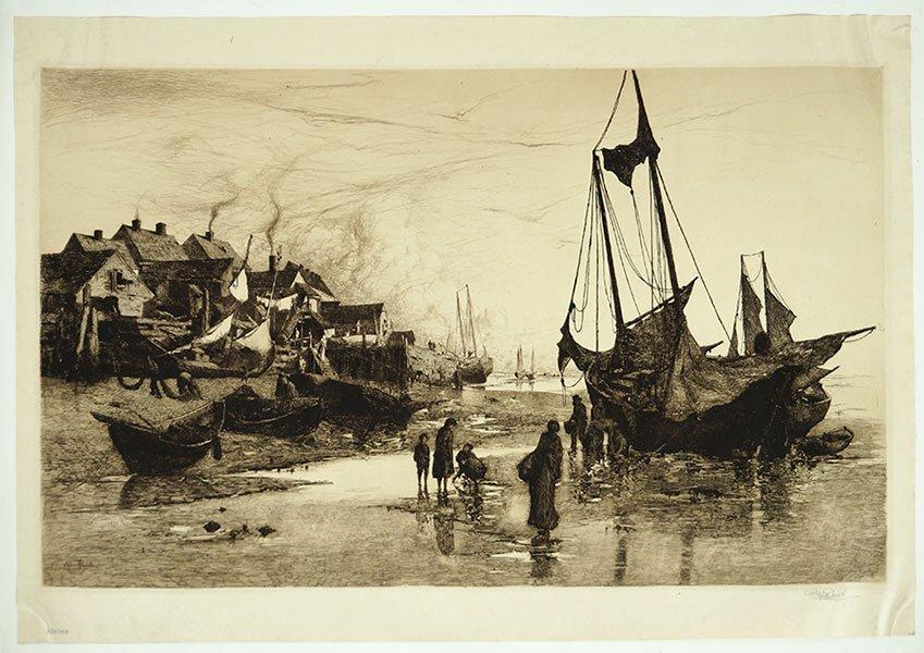 STEPHEN PARRISH (AMERICAN, 1846-1938) COAST OF NEW