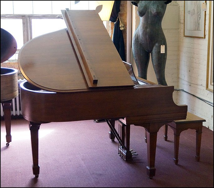 A Steinway 'Model S' Baby Grand Piano.