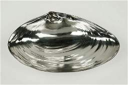 A Wallace Sterling Silver Clam Shell Dish