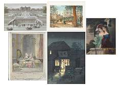A Collection of Framed Prints