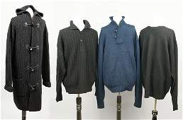 A Polo Ralph Lauren Sport Men's Black Wool Sweater.