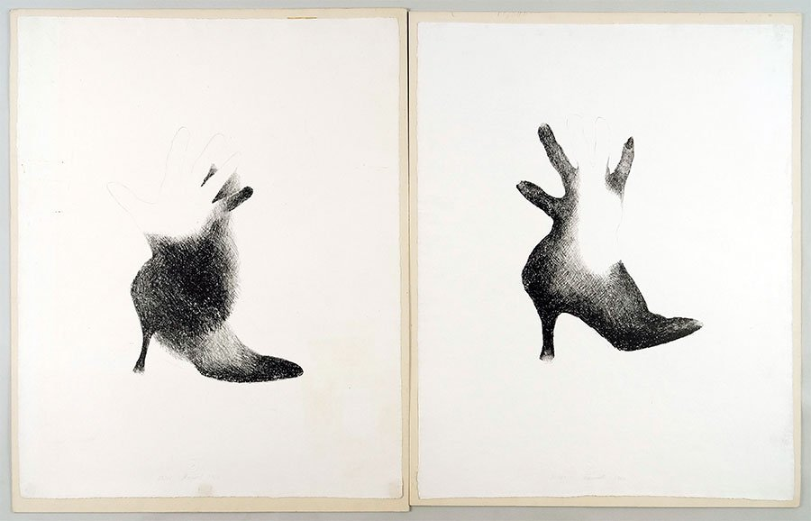 Marisol Escobar (French, B. 1930) Hand In Shoe.