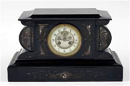A French Slate Mantle Clock.