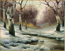 Laszlo Neogrady (Hungarian, 1896-1962) Winter