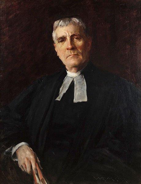 William Merritt Chase (1849-1916) The Reverend John