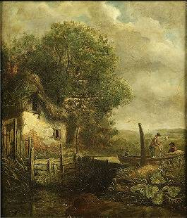 School Of John Constable (British, 1776-1837) View In