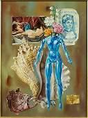 Aaron Bohrod American 19071992 Blue Venus