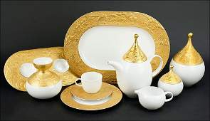 A Bjorn Wiinblad for Rosenthal Porcelain Coffee Service