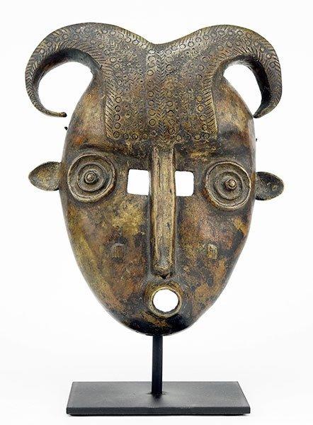 An African Bronze Mask.