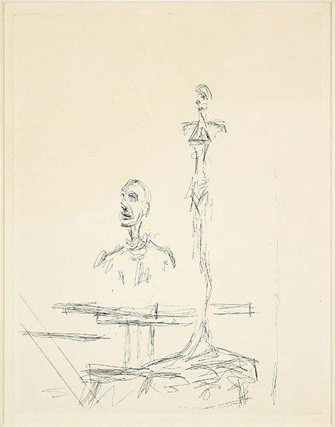 Alberto Giacometti (Swiss, 1901-1966) The Search.
