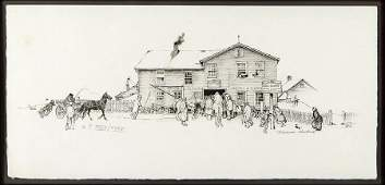 Norman Rockwell (American, 1894-1978) Blacksmith Shop.