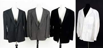 A Gianni Versace Black Velvet Mens Jacket