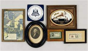 A Collection Of Advertising Items