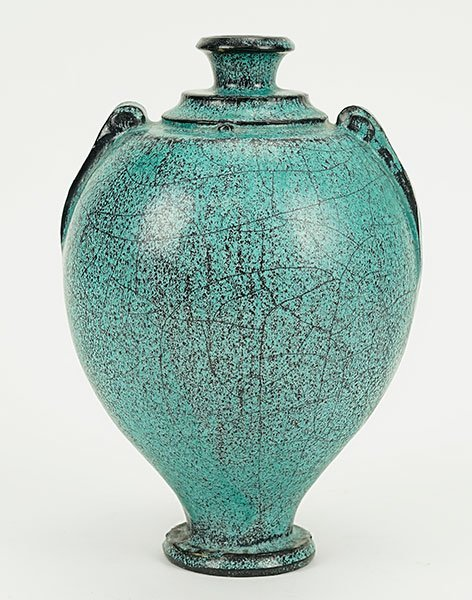 Herman Kahler (Danish, 1846-1917) A Vase.