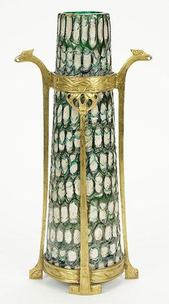Koloman Moser (Austrian, 1868-1918) A Loetz Vase.