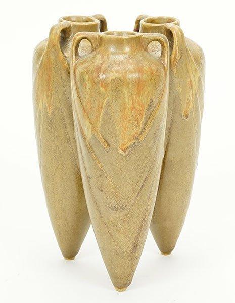 A French Denbac Pottery Vase.