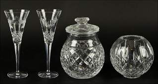 A Pair Of Waterford Crystal Millennium Series Champagne