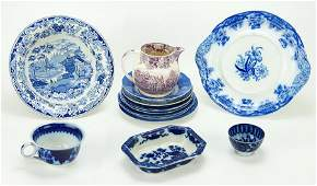 A Collection of English Transferware.