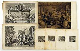 William Hogarth English 16971764 A Collection of