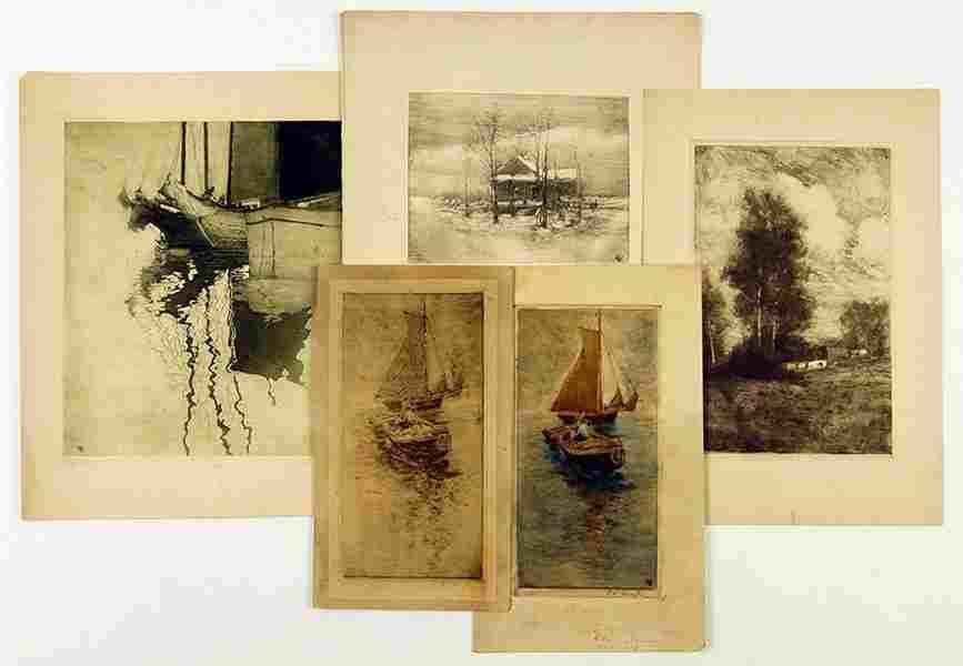 Eugene Leslie Smythe (American, 1857-1932) A Collection
