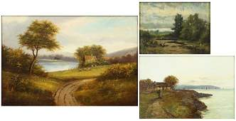 Artists Unknown (Early 20th Century) Three Works.