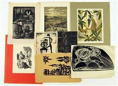 A Collection of 20th Century Woodcuts