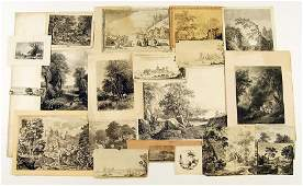 A Collection of 17th  19th Century Old Master