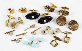 A Collection Of Cufflinks.