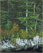 Richard D Phillips American 20th Century Deep Wood