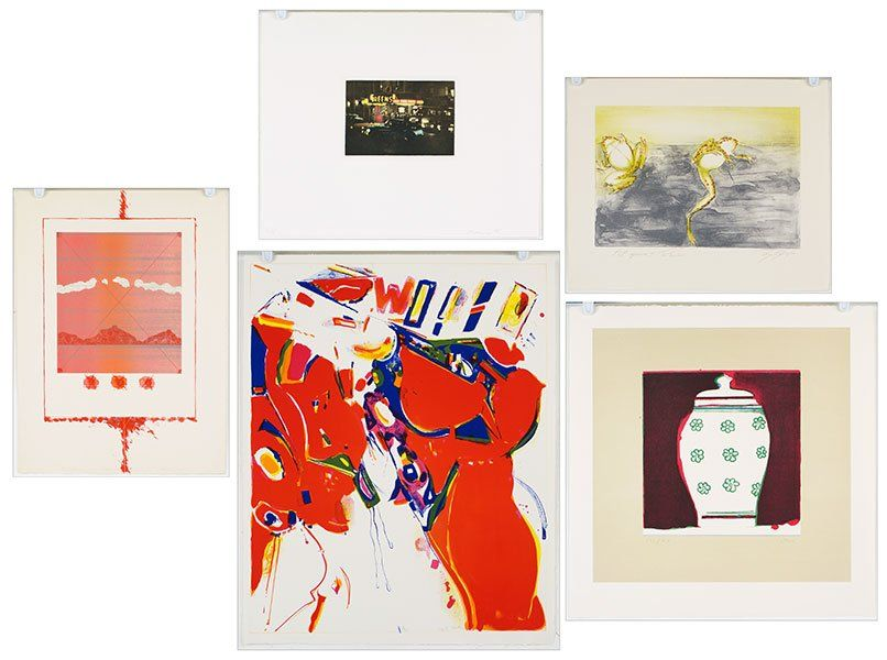 A Collection of Contemporary Prints.
