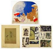 A Collection of 20th Century Works on Paper