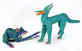 Two Manuel Jimenez Mexican Folk Art Figures.
