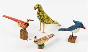 Jim Lewis (American, 20th Century) Yellow Bird.