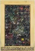 Howard Finster (American, 1916-2001) Wipe Rag Art.