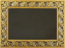 An Italian Contemporary Gold Mirror