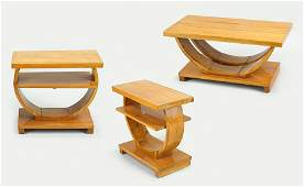 Three Art Deco Tables
