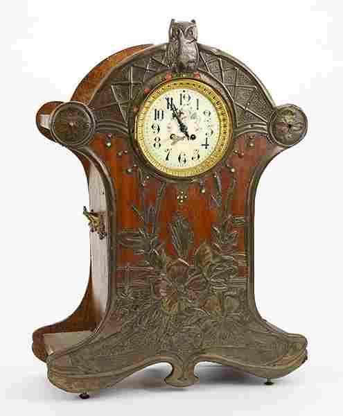 A French Art Nouveau Clock.