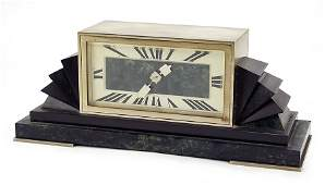 A French Art Deco Mantle Clock.