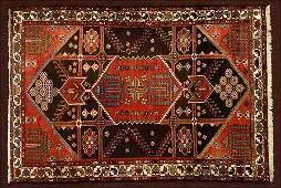 A Bakhtiari Rug.