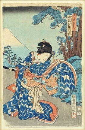 After Utagawa Toyokuni Ii (japanese, 1777-1835) An