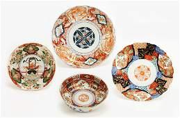 Three Early 20th Century Kutani Porcelain Plates.