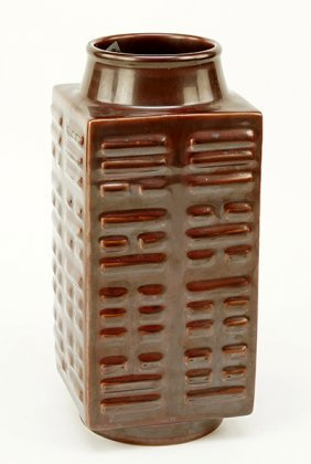 A Chinese Cong Form Vase.