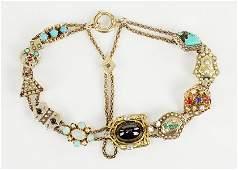 A Victorian Slide Bracelet